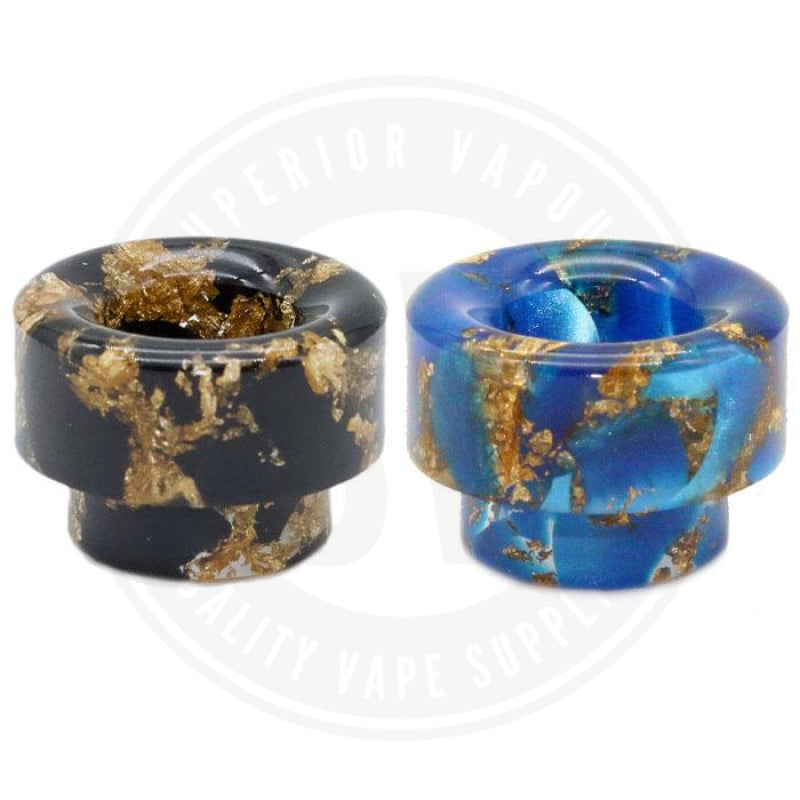 810 Wide Bore Resin Drip Tips By Vapjoy Tip