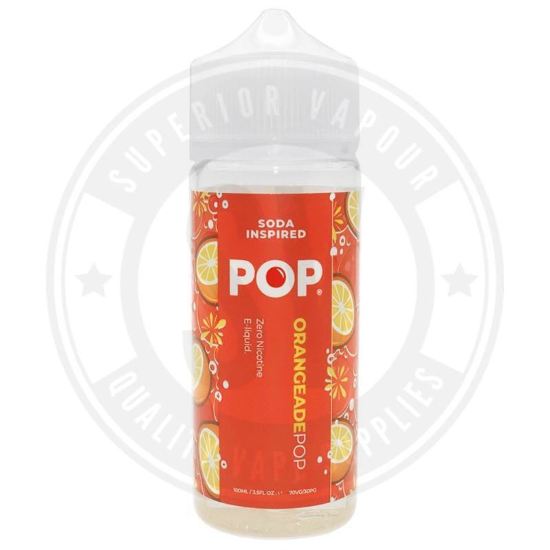 Orangenade Pop E-Liquid 100Ml By E Liquid