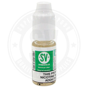 American Lites E-Liquid 10Ml By Superior Vapour E Liquid