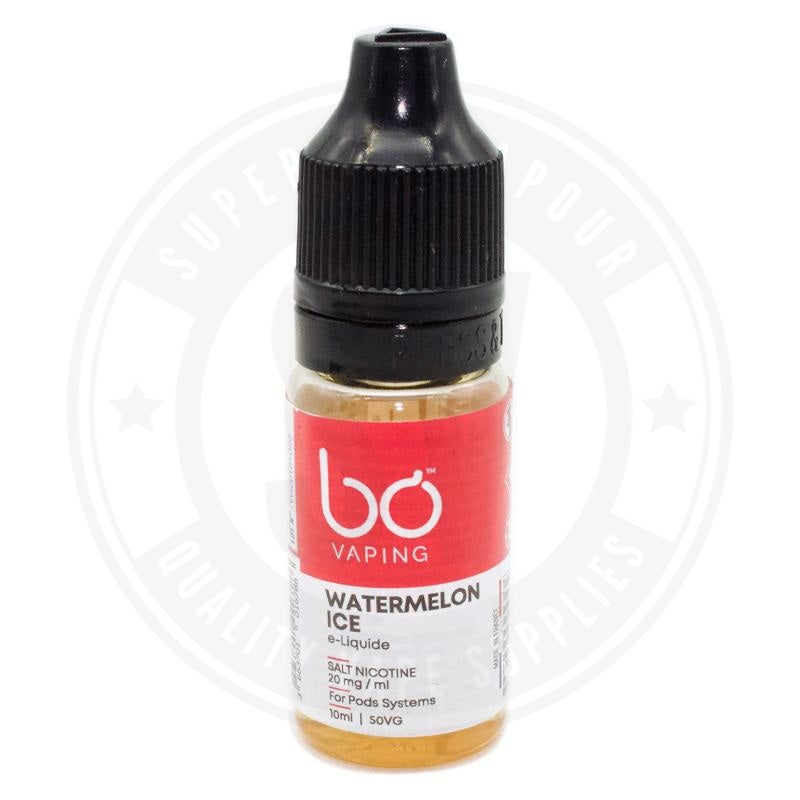 Watermelon Ice E-Liquid 10ml Salts by BO Vaping