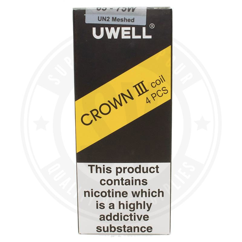 Uwell Crown 3 Coils X4 By Atomizer