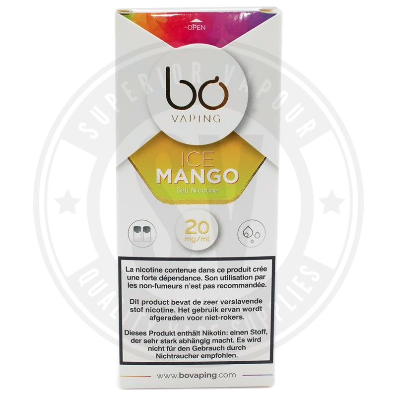 Ice Mango Salt Nic Bo Caps By Vaping E Liquid