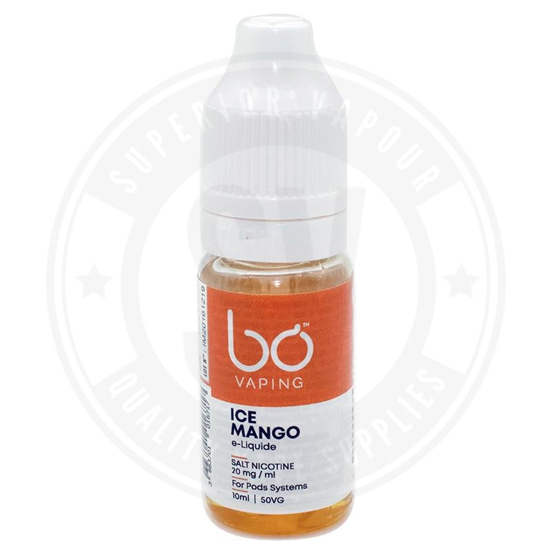 Ice Mango E-Liquid 10ml Salts by BO Vaping
