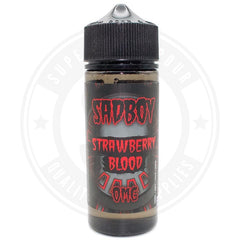 Strawberry Blood E-Liquid 100ml by SadBoy