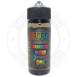 Rainbow Blood E-Liquid 100ml by SadBoy