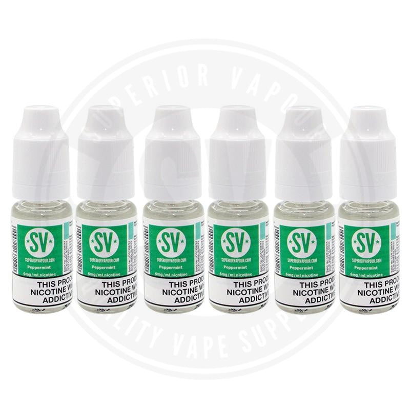 Peppermint E-Liquid 10ml by Superior Vapour