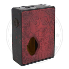 Rampage Squonk Mod By Purge Mods Red