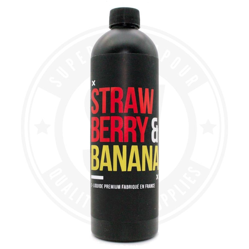 Strawberry & Banana E-Liquid by Remix Jet