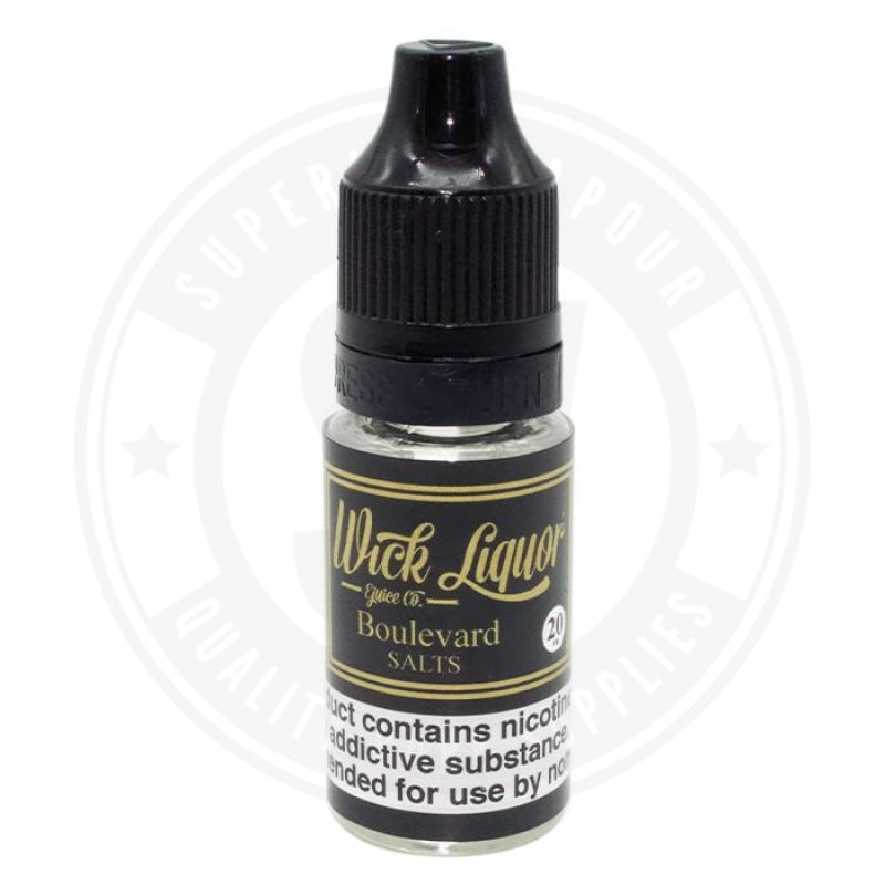 Boulevard E-Liquid 10Ml Nic Salts By Wick Liquor E Liquid
