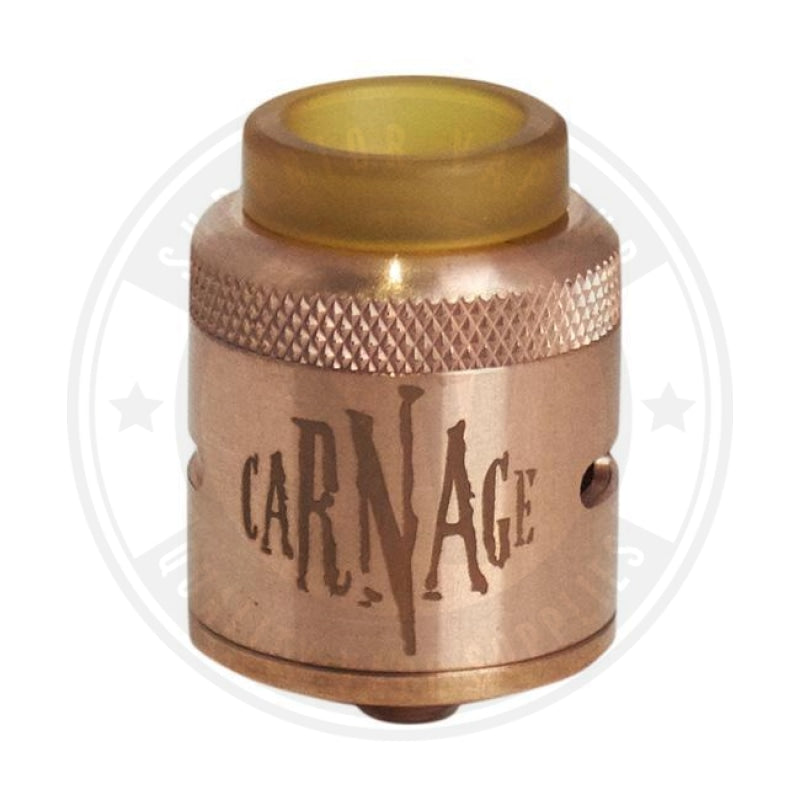 Carnage V1 Rda By Purge Mods Copper