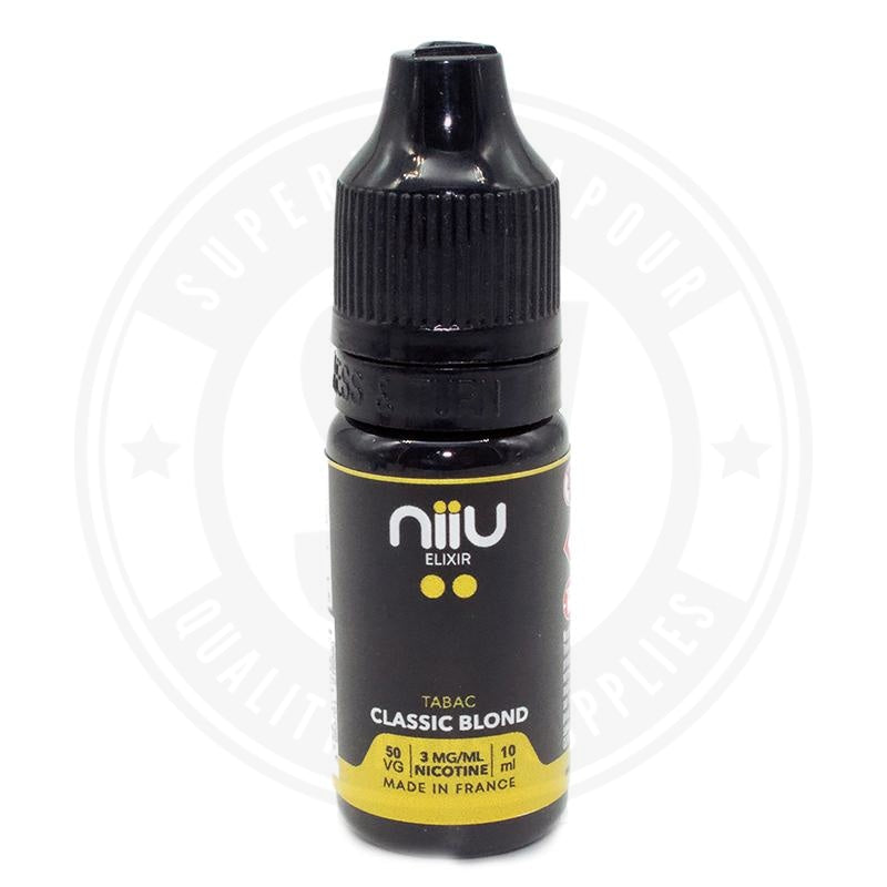 Classic Blond E-Liquid 10Ml By Niiu E Liquid