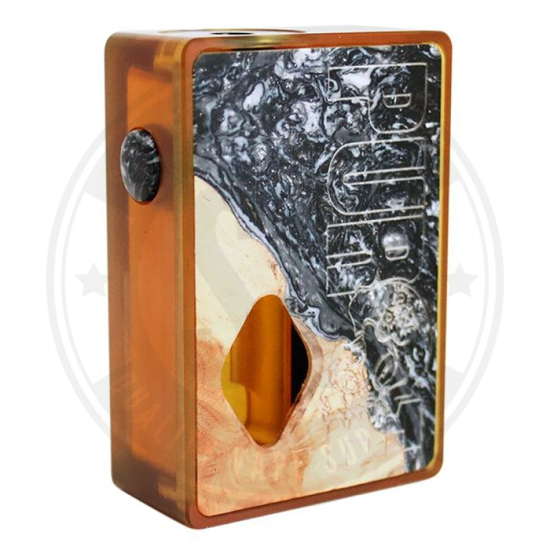 Ultem Stab Wood Resin Squonk Mod By Purge Mods Black