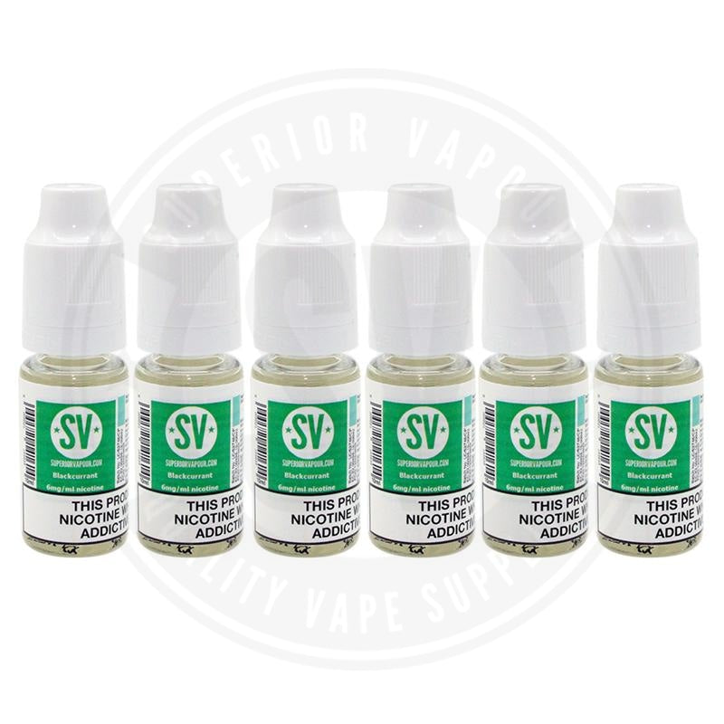 Blackcurrant E-Liquid 10ml by Superior Vapour