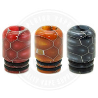 510 Mouth To Lung Resin Drip Tips By Vapjoy Tip