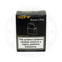Breeze 2 Pod X 1 By Aspire Atomizer