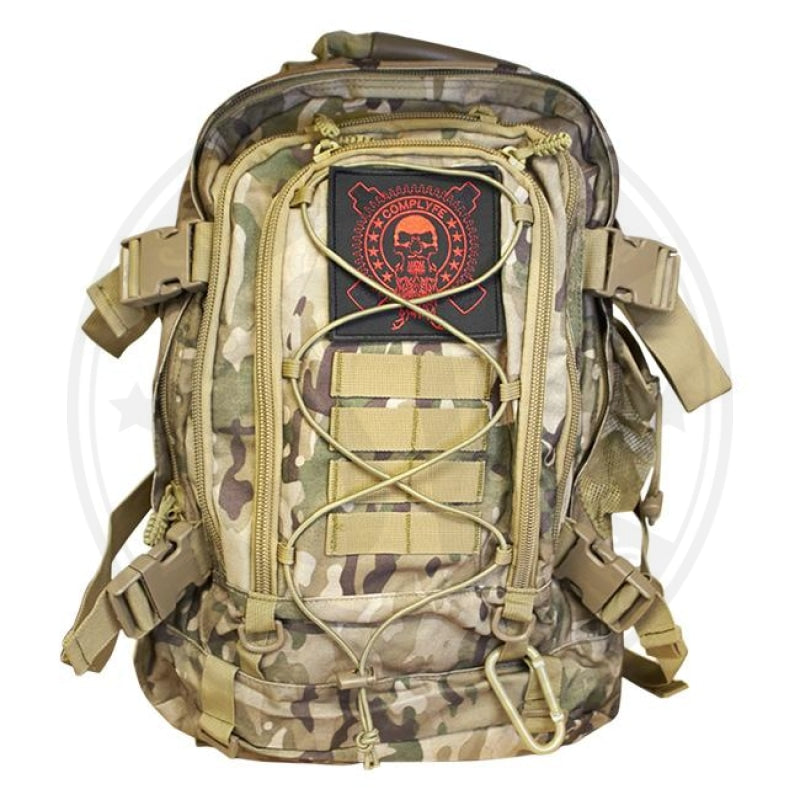 Tactical Backpack By Comp Lyfe Multi Camo Backpack