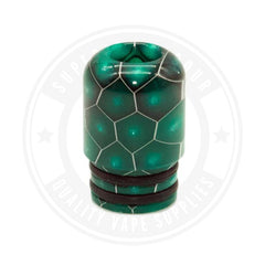 510 Mouth To Lung Resin Drip Tips By Vapjoy Green Tip