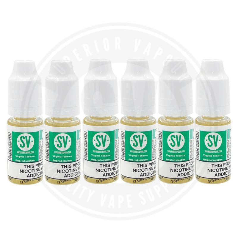Virginia Tobacco E-Liquid 10ml by Superior Vapour