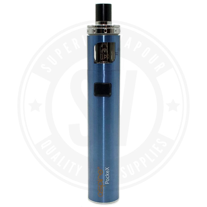Aspire Pockex Starter Kit Blue Kit
