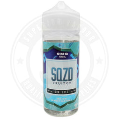 Blue Raspberry On Ice E-Liquid 100Ml By Sqzd Fruit Co. E Liquid