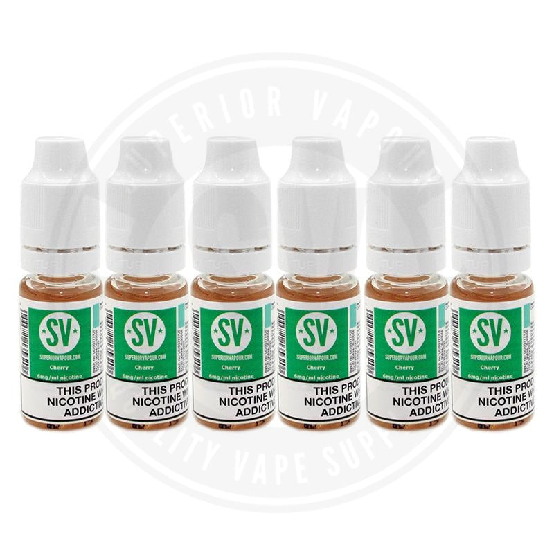 Cherry E-Liquid 10ml by Superior Vapour