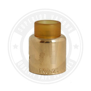 Carnage Rda Slam Caps By Purge Mods Prg - 25 / Brass Cap