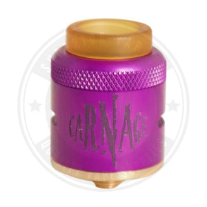 Carnage V1 Rda By Purge Mods Purple