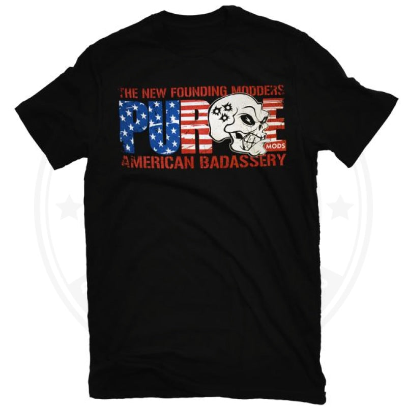 American Badassery T Shirt By Purge Mods Clothing