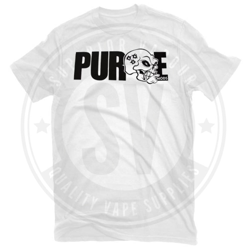 Purge Carnage T Shirt By Mods Small / White Clothing
