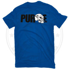 Purge Carnage T Shirt By Mods Small / Blue Clothing