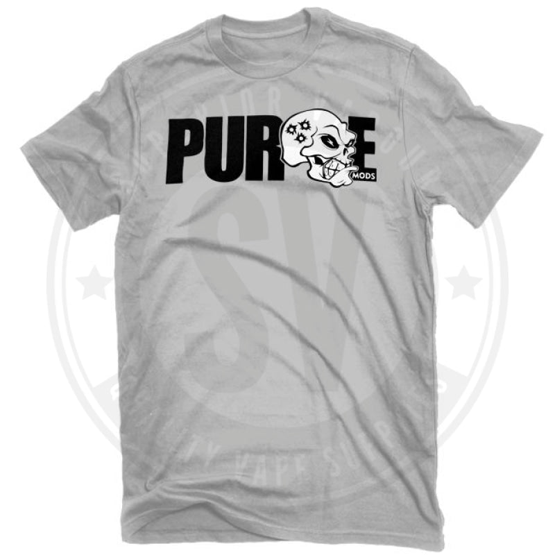 Purge Carnage T Shirt By Mods Small / Heather Grey Clothing