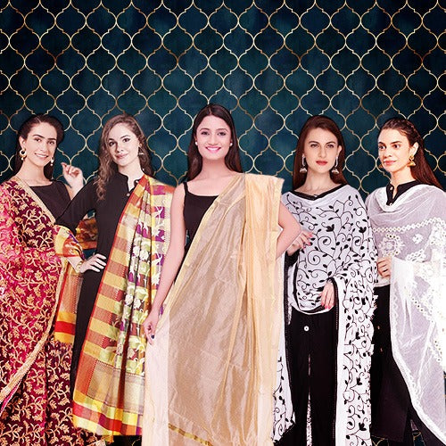 Dupattas to Match your Black Kurta