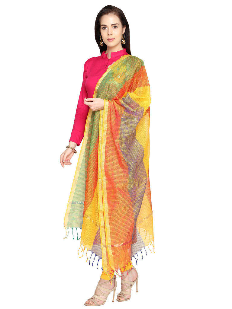 Multicoloured Dupatta - Dupatta Bazaar