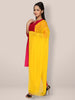 Yellow Chiffon Beaded Lace Dupatta - Dupatta Bazaar