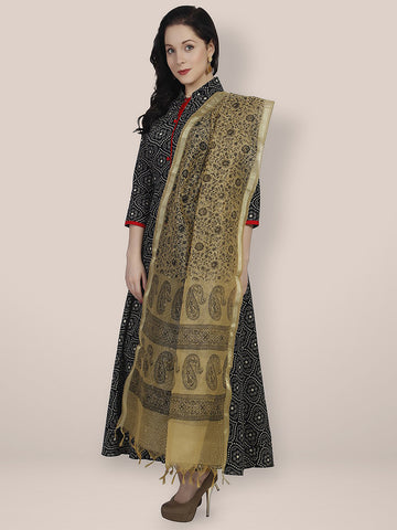 Dupatta Bazaar Woman's Cotton Silk Dupatta