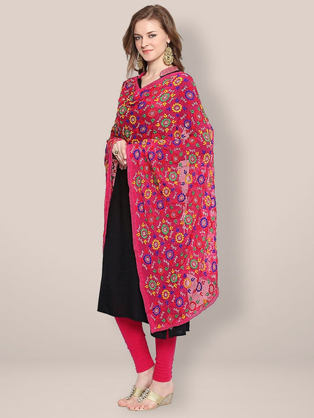 fulkari dupatta for women