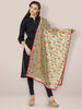 Multicolour Embroidered Dupatta