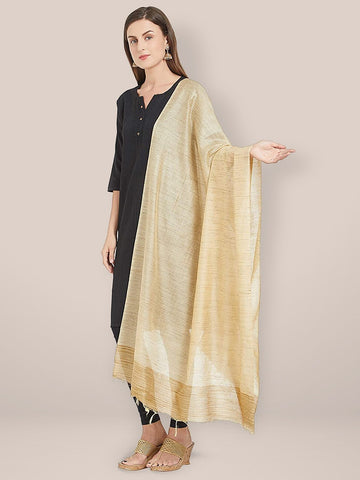 Gold Blended Silk dupatta