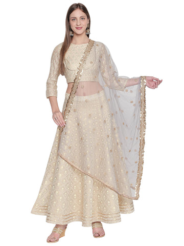 Dupatta Bazaar Woman's Embroidered Grey Net Dupatta. - Dupatta Bazaar
