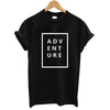 ADVENTURE Black T-Shirt