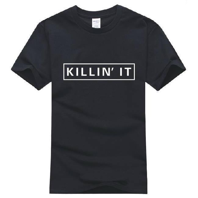 Shirts - Killin' It! Black T-Shirt