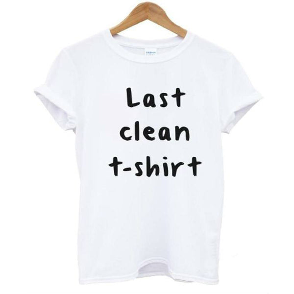 Shirts - Last Clean T-Shirt White