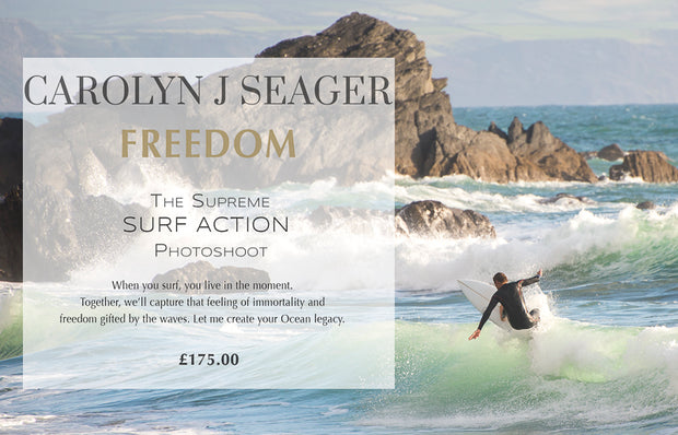 FREEDOM  - THE SUPREME SURF PHOTOSHOOT