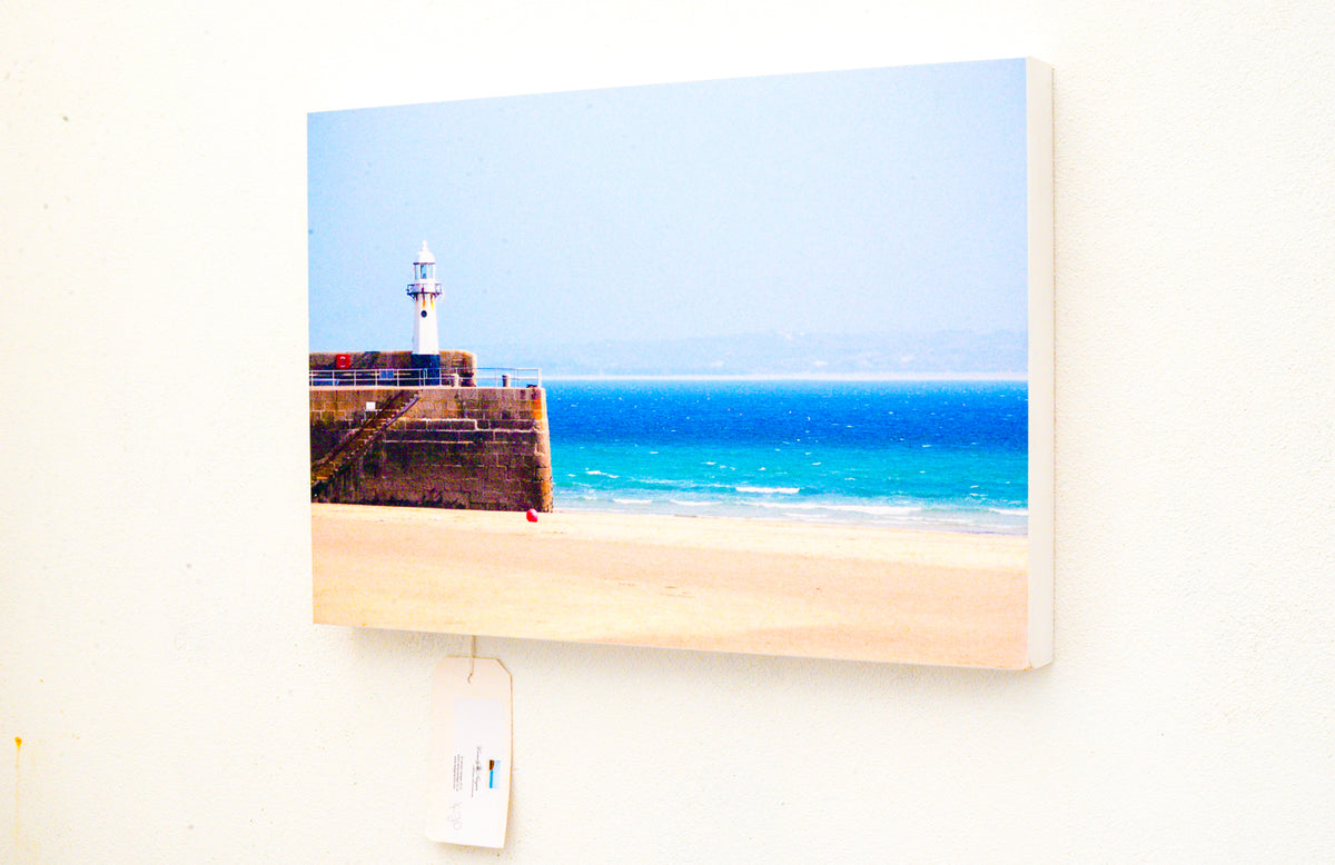 Safe Harbours - Photographic Art On A Mount Block.