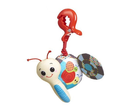 Tiny Love Jitter Teether Snail
