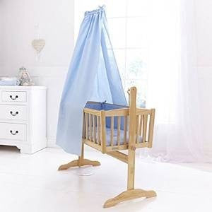 Clair De Lune - Blue Free Standing Rod And Drape Set