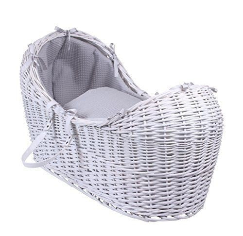 Clair de Lune Noah Pod - White With Waffle Grey