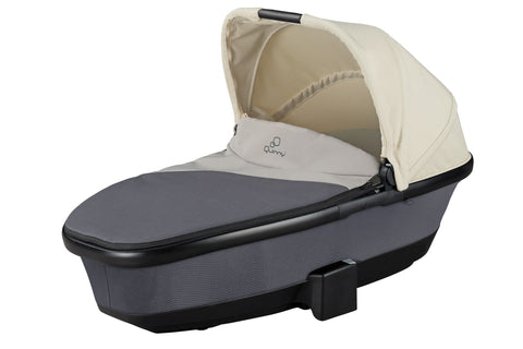 Quinny Moodd Foldable Carrycot - reworked Grey