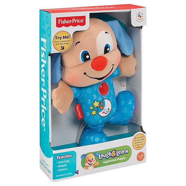 Fisher Price Laugh N Learn Nighttime Puppy