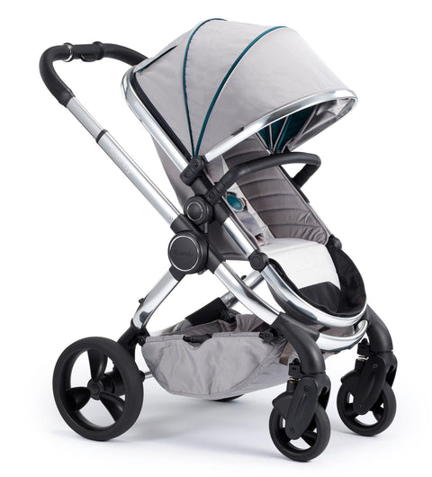 iCandy Peach Travel System Bundle Dove Grey - Chrome Chassis